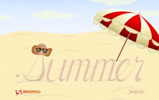 Summertime on the beach wallpapers and stock photos