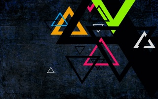 Triangles wallpapers and stock photos