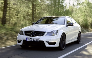 Next: Mercedes Benz C 63 AMG on the road