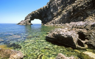 Arco del'Elefante - Sicily wallpapers and stock photos