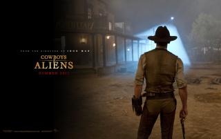 Cowboys and Aliens: Daniel Craig wallpapers and stock photos