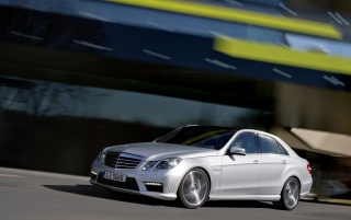 Random: Mercedes Benz E63 AMG side