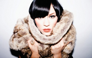 Jessie J Fur wallpapers and stock photos