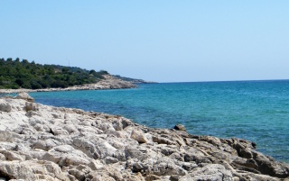 Thassos West Shoreline 2 wallpapers and stock photos