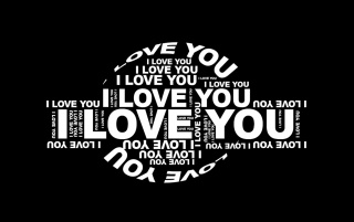 I love you typography wallpapers and stock photos