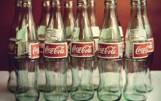 Empty Coke Bottles wallpapers and stock photos