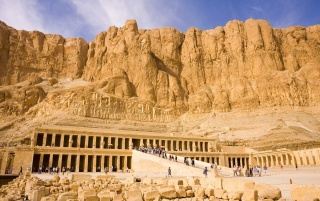 Queen Hatshepsut Temple Egypt wallpapers and stock photos