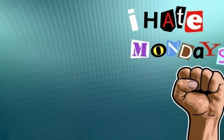 I (Still) Hate Mondays wallpapers and stock photos
