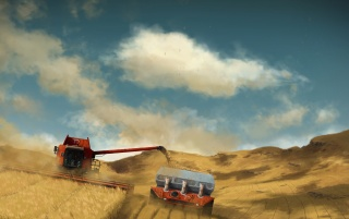 Harvester wallpapers and stock photos