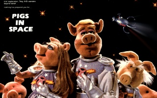 The Muppet Show: Pigs in Space wallpapers and stock photos