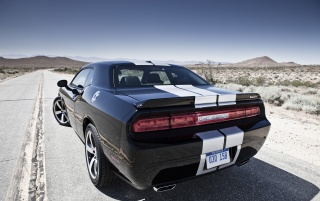Dodge Challenger SRT8 392 Rear wallpapers and stock photos
