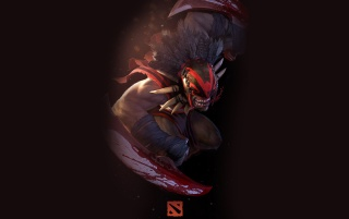 DOTA 2 - Bloodseeker wallpapers and stock photos