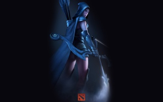 DOTA 2 - Downranger wallpapers and stock photos