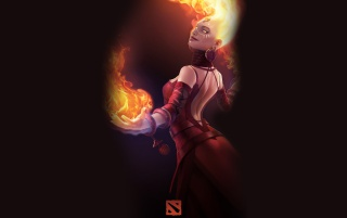 DOTA 2 - Lina wallpapers and stock photos