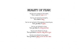 REALITY of FEAR wallpapers and stock photos