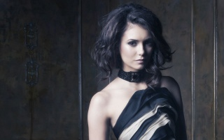 Nina Dobrev Short Hair wallpapers and stock photos