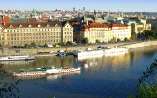 Prague- Vltava wallpapers and stock photos