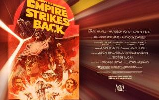 Empire Strikes Back Lobby Card wallpapers and stock photos