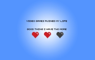 Video Games Ruined My Life wallpapers and stock photos