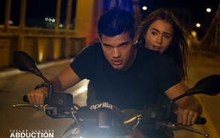 Abduction: Taylor Lautner Motorcycle wallpapers and stock photos