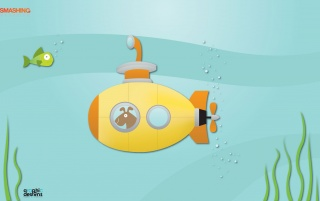 Yellow submarine wallpapers and stock photos
