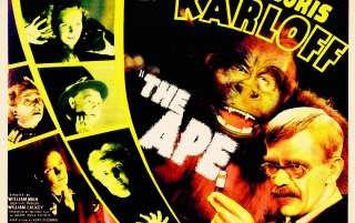 Classic Cinema: The Ape! wallpapers and stock photos