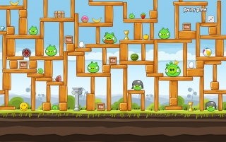Angry Birds Construction wallpapers and stock photos