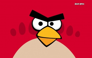 Angry Birds Red wallpapers and stock photos