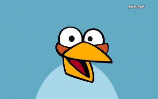 Angry Birds Blue wallpapers and stock photos
