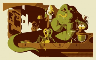 Jabba the Hutt WebArt wallpapers and stock photos