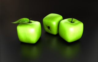 Apple Cubes wallpapers and stock photos