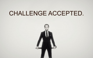 Challenge accepted wallpapers and stock photos