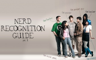 Nerd recognition guide wallpapers and stock photos