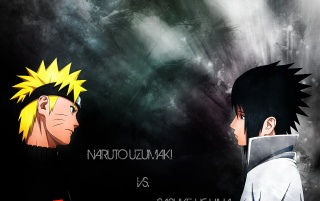 Naruto and Sasuke wallpapers and stock photos