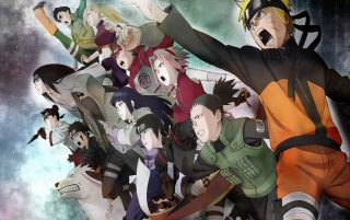Naruto Group wallpapers and stock photos