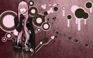 Megurine Luka Vocaloid wallpapers and stock photos
