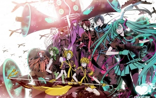 Vocaloid Characters wallpapers and stock photos
