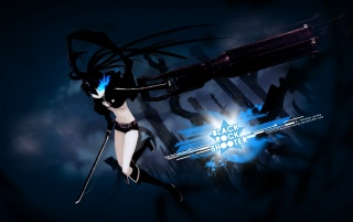 Black Rock Shooter wallpapers and stock photos