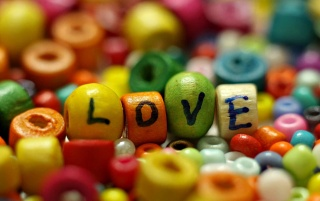 Love beads wallpapers and stock photos