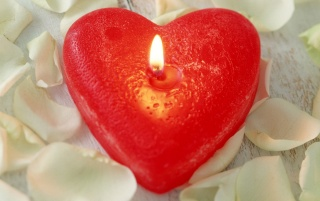 Love candle wallpapers and stock photos