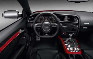 Audi RS5 Dashboard 2 wallpapers and stock photos