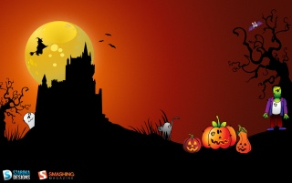 Creepy October wallpapers and stock photos