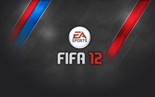 FIFA 12 Gray Red Blue wallpapers and stock photos