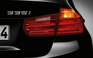 2012 BMW 3 Series Sedan Taillight wallpapers and stock photos