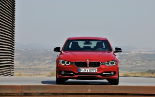 BMW 3 Series Sedan Sport Line Front wallpapers and stock photos