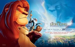 Lion King Poster wallpapers and stock photos