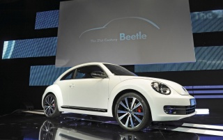 2012 Volkswagen Beetle World Premiere Berlin wallpapers and stock photos