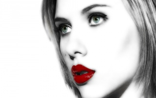 Scarlett lips wallpapers and stock photos