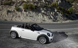 Random: Mini Roadster Front and Side