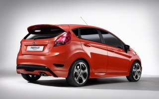 Ford Fiesta ST Concept Rear And Side wallpapers and stock photos